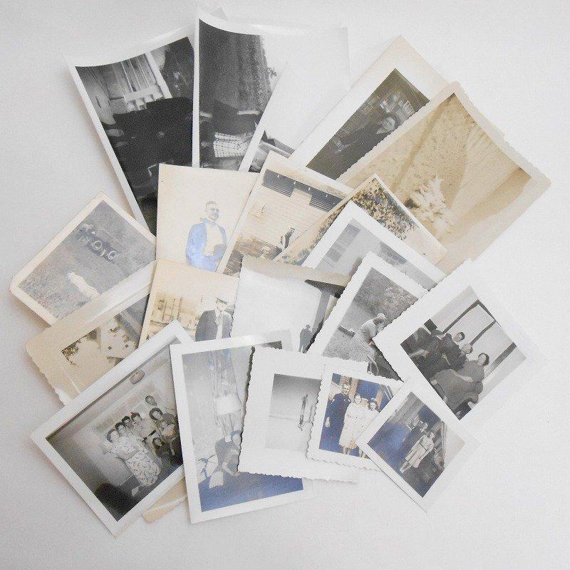 ヴィンテージフォト・人物の写真・20枚セット・1920年代から1960年代前半【A】