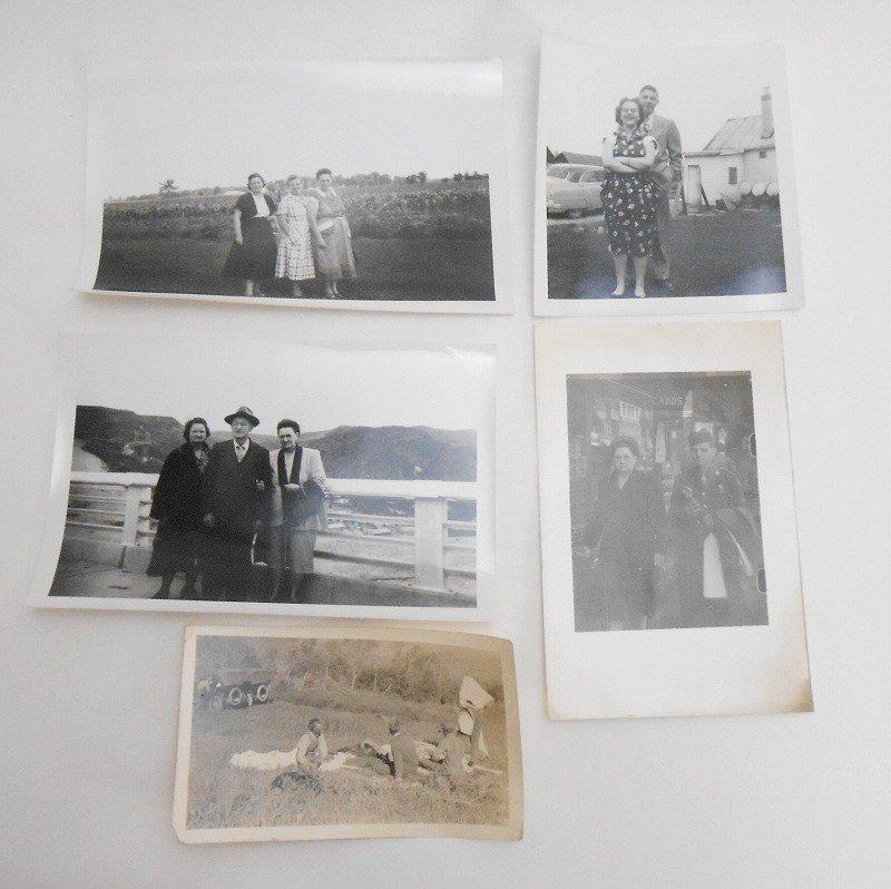 ヴィンテージフォト・人物の写真・20枚セット・1920年代から1960年代前半【A】【画像3】