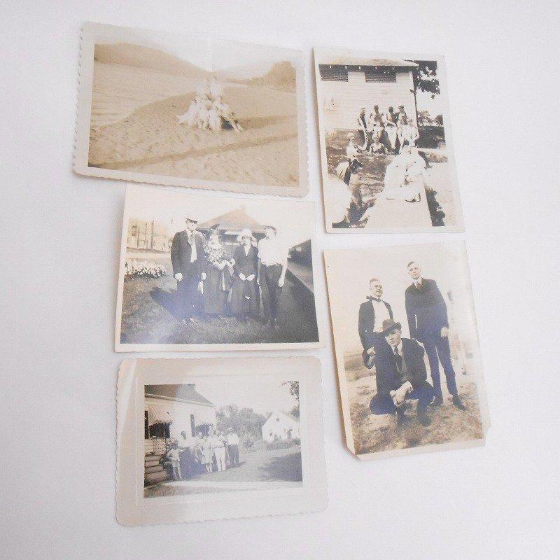 ヴィンテージフォト・人物の写真・20枚セット・1920年代から1960年代前半【A】【画像4】