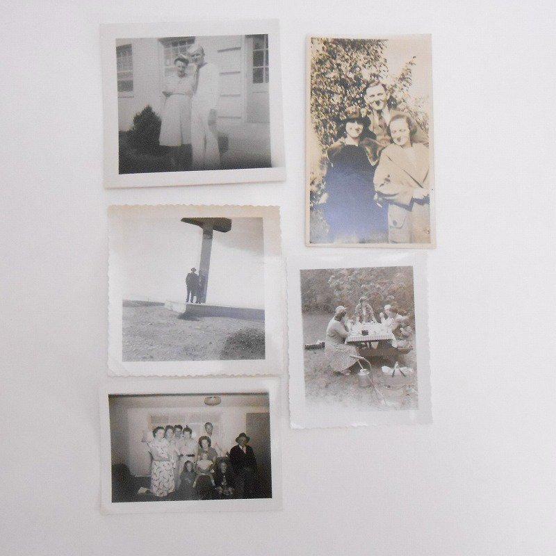 ヴィンテージフォト・人物の写真・20枚セット・1920年代から1960年代前半【A】【画像6】
