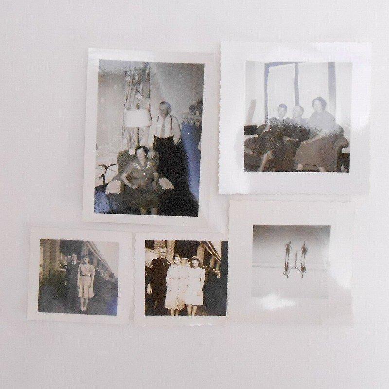 ヴィンテージフォト・人物の写真・20枚セット・1920年代から1960年代前半【A】【画像7】
