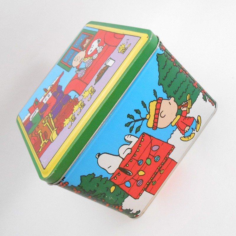 ヴィンテージ・スヌーピーとお友達・コレクターズエディッション・クリスマスティン缶