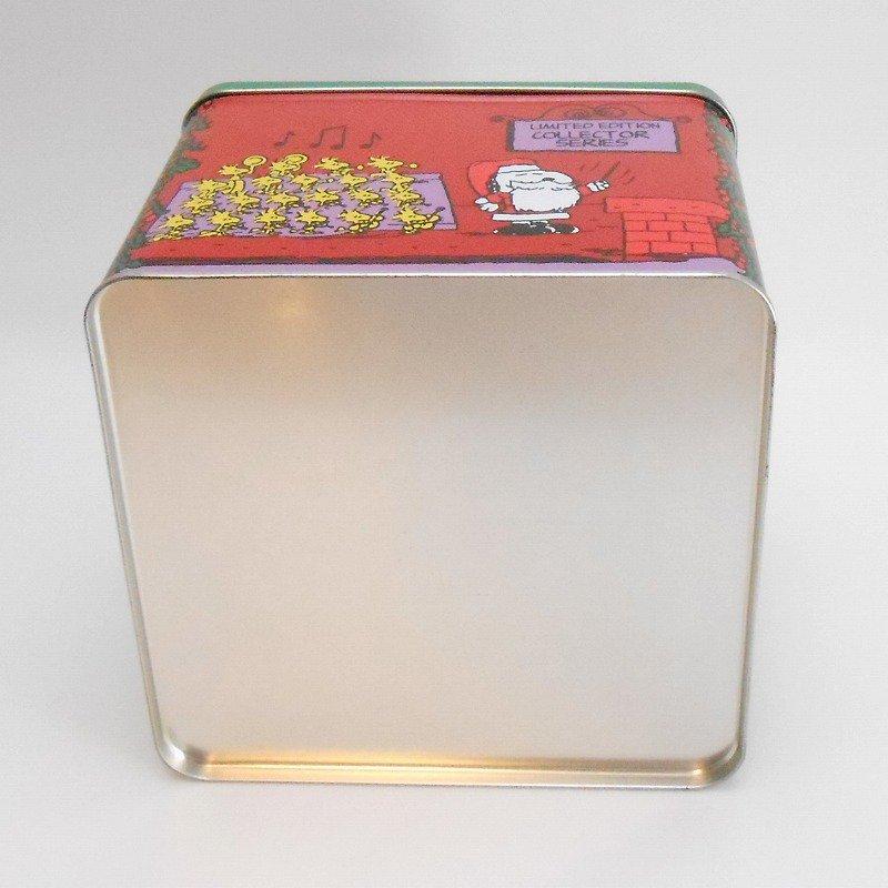ヴィンテージ・スヌーピーとお友達・コレクターズエディッション・クリスマスティン缶【画像11】