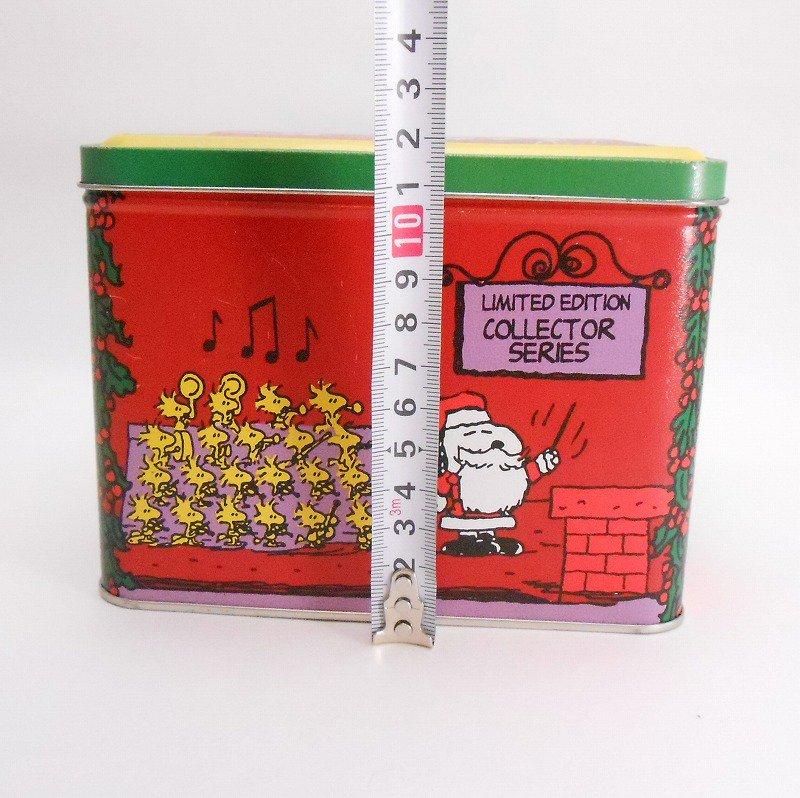 ヴィンテージ・スヌーピーとお友達・コレクターズエディッション・クリスマスティン缶【画像12】