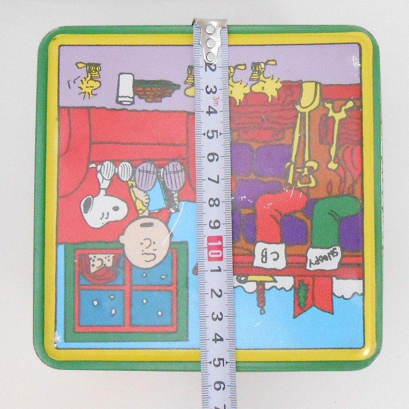 ヴィンテージ・スヌーピーとお友達・コレクターズエディッション・クリスマスティン缶【画像13】