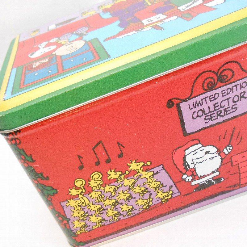 ヴィンテージ・スヌーピーとお友達・コレクターズエディッション・クリスマスティン缶【画像5】
