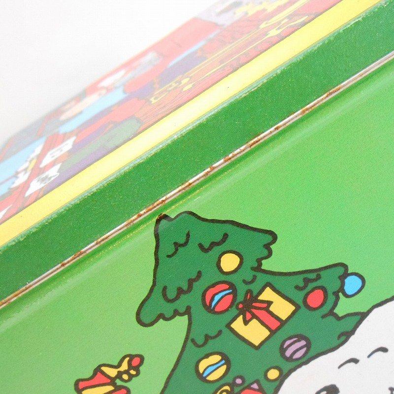 ヴィンテージ・スヌーピーとお友達・コレクターズエディッション・クリスマスティン缶【画像7】