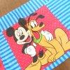 キャラクター ヴィンテージピローケース・ディズニー・ミッキーとプルート