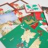 グリーティングカード 未使用・ヴィンテージ・クリスマスプレゼント用タグ11枚セット