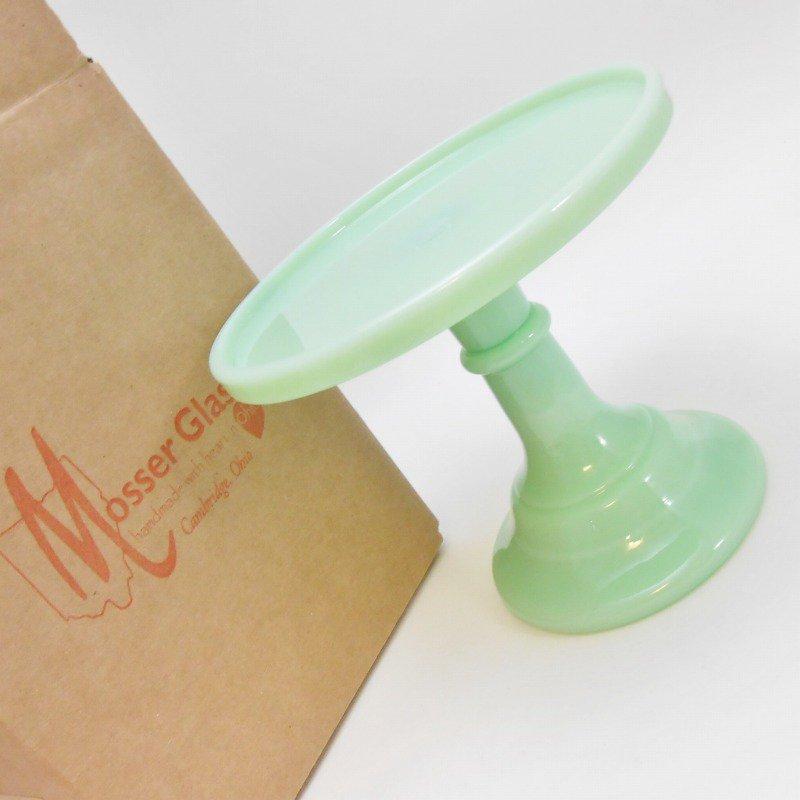 モッサーグラス Mosser Glass 6インチ ジェダイ ケーキスタンド