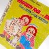 ラガディアン&アンディー ビンテージ絵本・ラガディアン・Raggedy Ann & Andy, The Little Gray Kitten・ゴールデンリトルブック