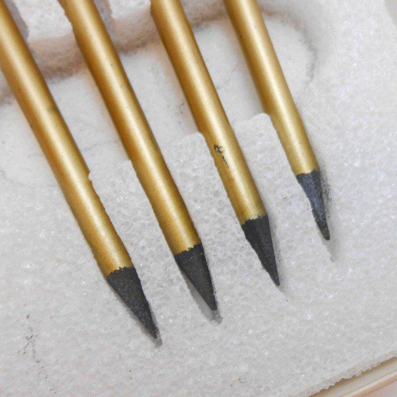 ヴィンテージ文房具・鉛筆4本・ブリッジメモ・メモケース・ボックス入りセット【画像15】