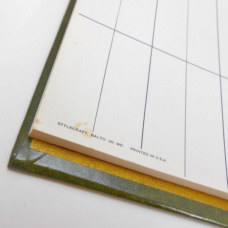ヴィンテージ文房具・鉛筆4本・ブリッジメモ・メモケース・ボックス入りセット【画像7】