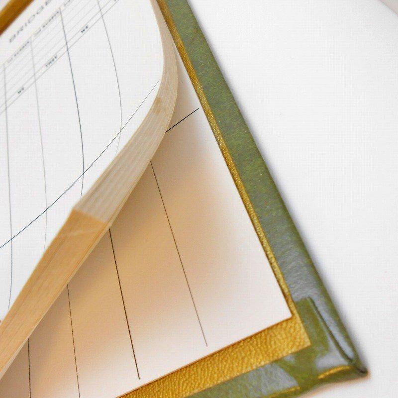 ヴィンテージ文房具・鉛筆4本・ブリッジメモ・メモケース・ボックス入りセット【画像8】
