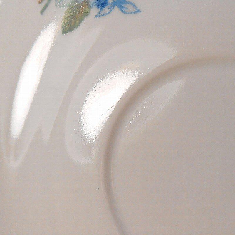 ポーランド製・青と紫のお花・カップ&ソーサー【A】【画像11】