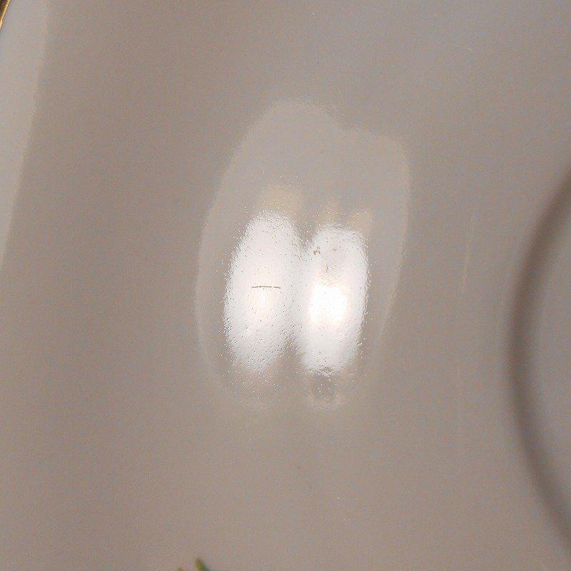 ポーランド製・青と紫のお花・カップ&ソーサー【A】【画像12】