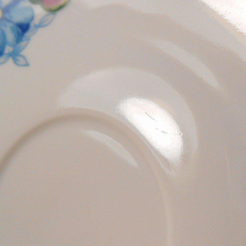 ポーランド製・青と紫のお花・カップ&ソーサー【A】【画像10】