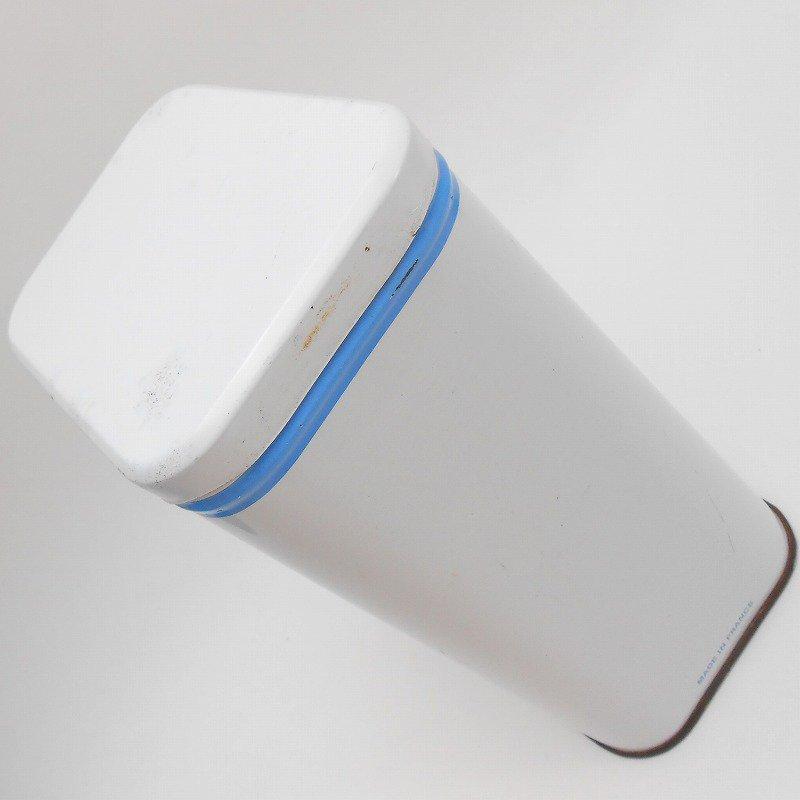 ビンテージ・フランス製・ビーチ&Farine・TIN缶キャニスター【画像5】