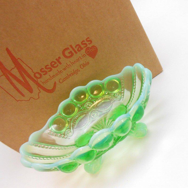 モッサーグラス・Mosser Glass・アイウインカー・グリーンオパール・ジャムディッシュ【画像4】