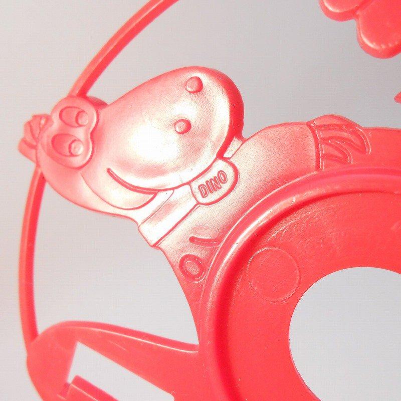 ヴィンテージキャラクター雑貨・フリントストーン・ディノ・自転車用リフレクター・訳あり【画像4】