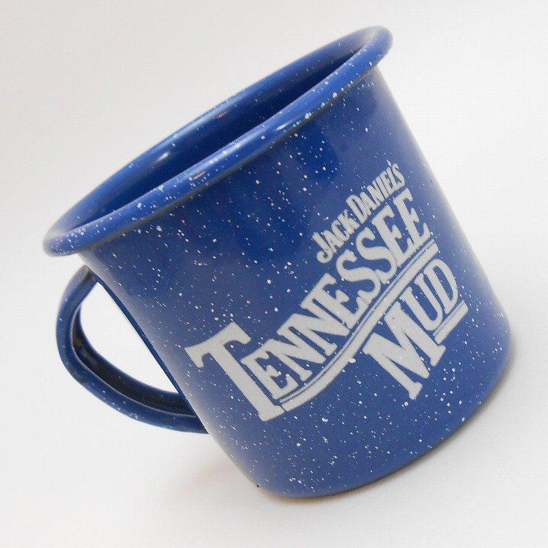 ジャックダニエル Jack Daniel's Tennessee Mud ブルーホーロー マグ カップ B