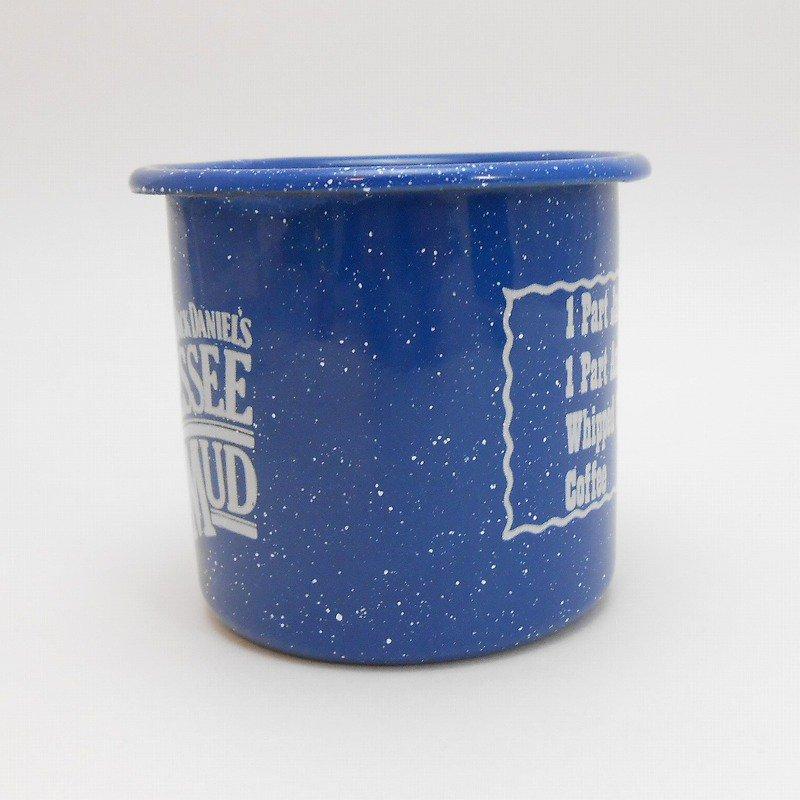 ジャックダニエル Jack Daniel's Tennessee Mud ブルーホーロー マグ カップ B【画像3】