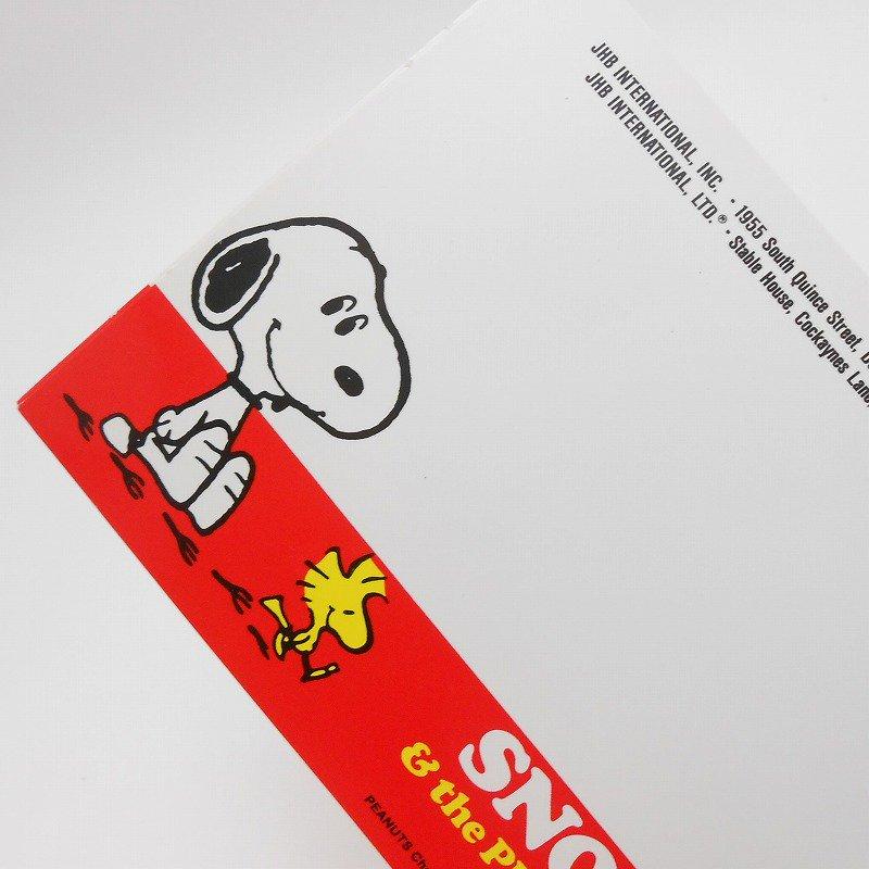 ヴィンテージ・缶バッチ用台紙ハガキ・スヌーピー&ウッドストック【画像5】
