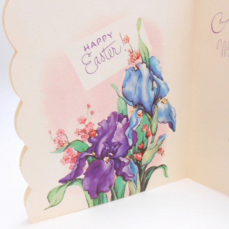 ヴィンテージグリーティングカード・使用済・An Easter Greeting For My Husband【画像4】
