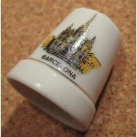 直近のソールドアウト ビンテージ・陶器製シンブル・バルセロナ