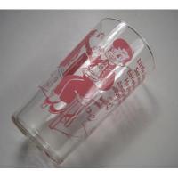 アメリカンミルクグラスブランド フェデラル・マザーグースシリーズ・JACK・ピンクプリントグラス