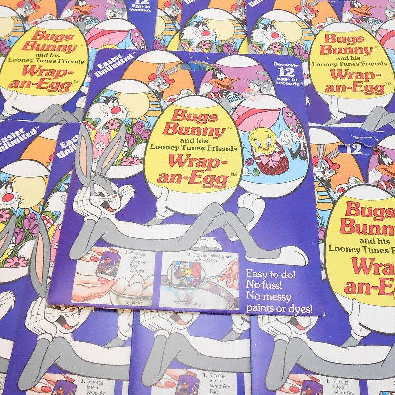 【大量入荷につき期間限定特別価格】1984年・ヴィンテージ・デッドストック・ルーニーチューンズ・イースターエッグデコレーション用シール