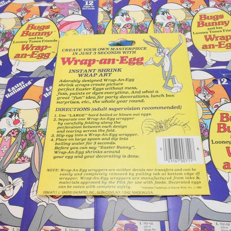 【大量入荷につき期間限定特別価格】1984年・ヴィンテージ・デッドストック・ルーニーチューンズ・イースターエッグデコレーション用シール【画像2】
