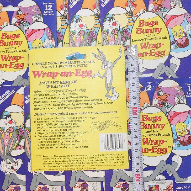 【大量入荷につき期間限定特別価格】1984年・ヴィンテージ・デッドストック・ルーニーチューンズ・イースターエッグデコレーション用シール【画像3】