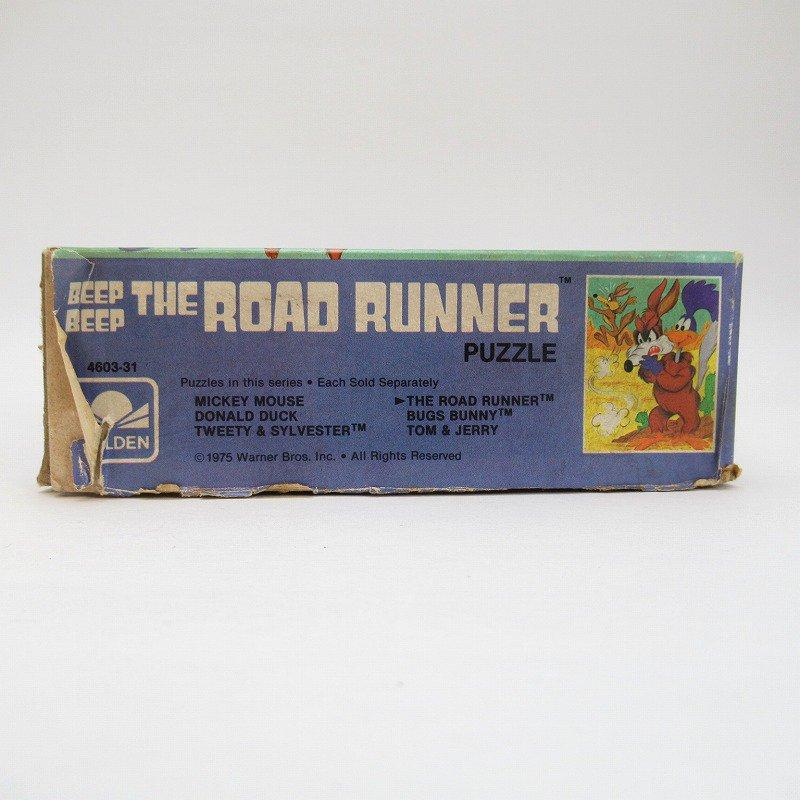 訳あり・1975年・ルーニーチューンズ・ロードランナー・箱付きパズル【画像11】