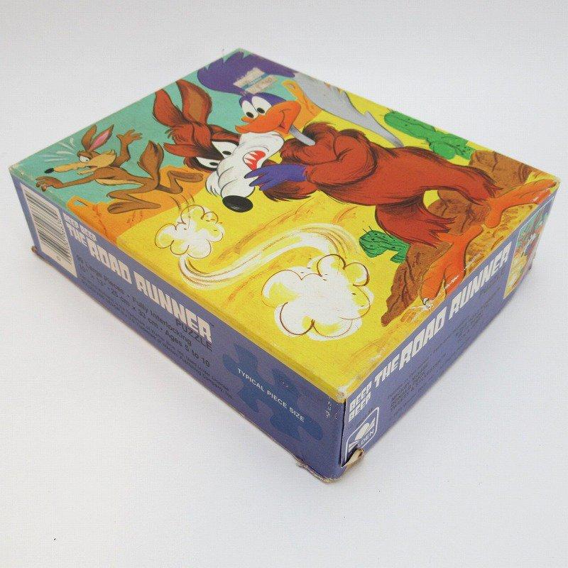 訳あり・1975年・ルーニーチューンズ・ロードランナー・箱付きパズル【画像14】