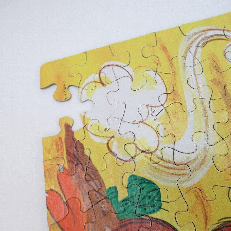訳あり・1975年・ルーニーチューンズ・ロードランナー・箱付きパズル【画像3】