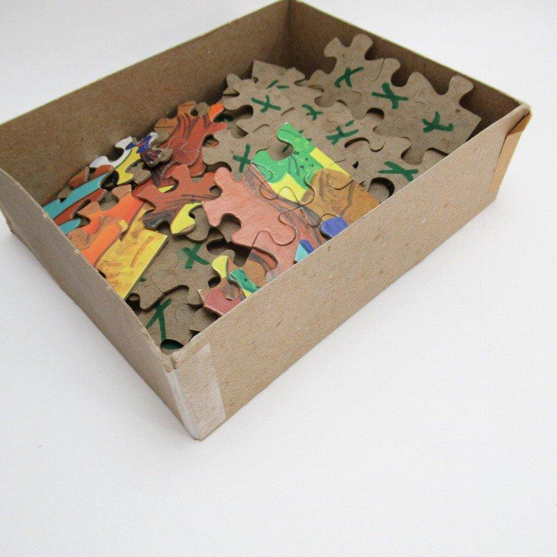 訳あり・1975年・ルーニーチューンズ・ロードランナー・箱付きパズル【画像7】