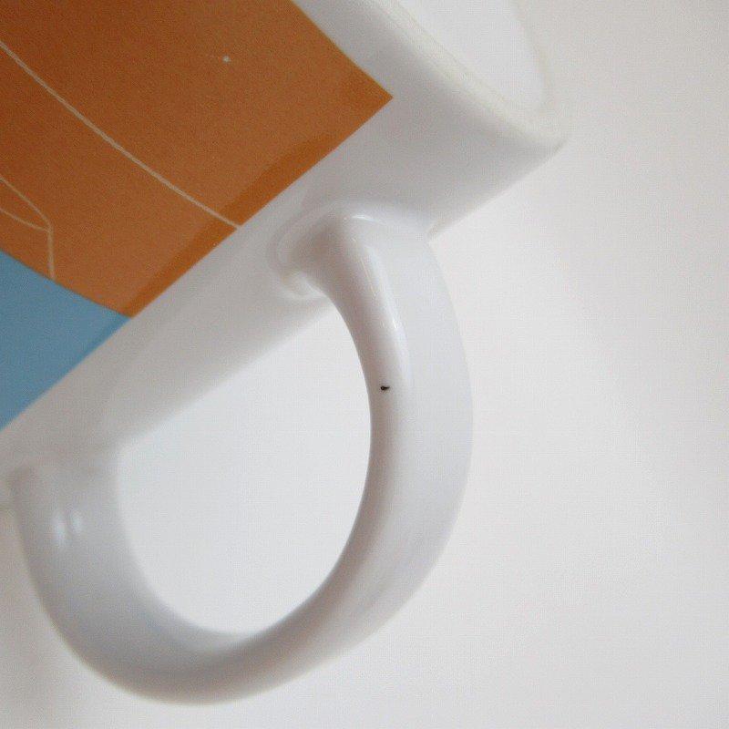 2002年・M&Ms・グリーン&イエロー・スポーツシリーズ・エムアンドエムズ・陶器製マグ【画像7】
