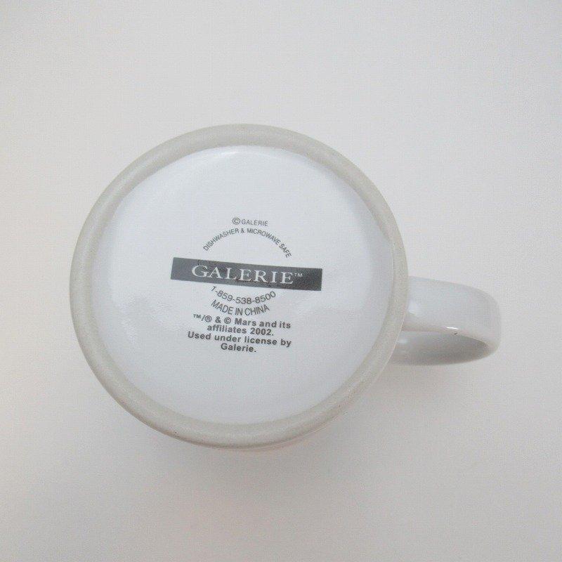 2002年・M&Ms・グリーン&イエロー・スポーツシリーズ・エムアンドエムズ・陶器製マグ【画像8】