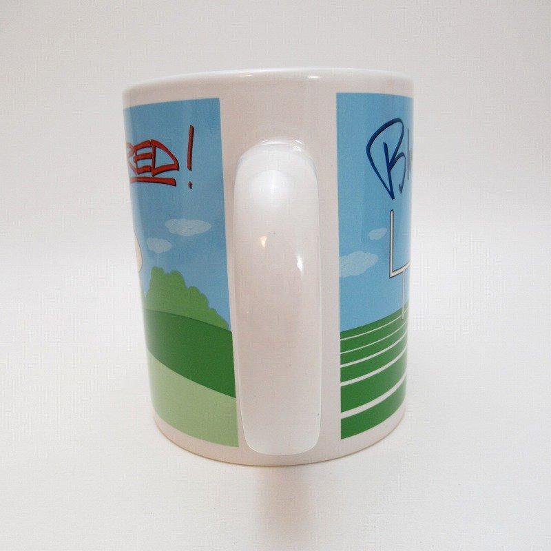 2002年・M&Ms・レッド&ブルー・スポーツシリーズ・エムアンドエムズ・陶器製マグ【画像4】