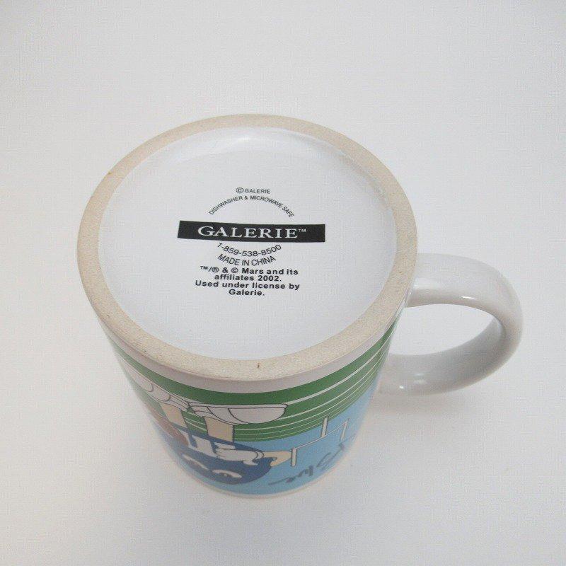 2002年・M&Ms・レッド&ブルー・スポーツシリーズ・エムアンドエムズ・陶器製マグ【画像7】