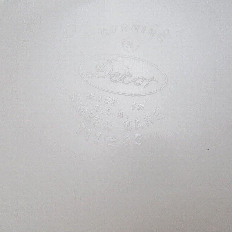 パイレックス・グリーンリーフ・サラダプレート【B】【画像4】