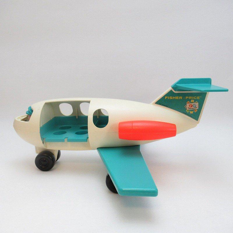 ビンテージトイ・1970年、1972年・フィッシャープライス・プラスチック製・エアプレーン・訳あり・飛行機【画像2】