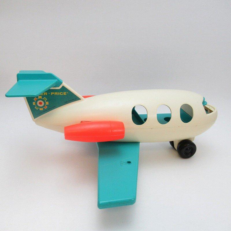 ビンテージトイ・1970年、1972年・フィッシャープライス・プラスチック製・エアプレーン・訳あり・飛行機【画像5】