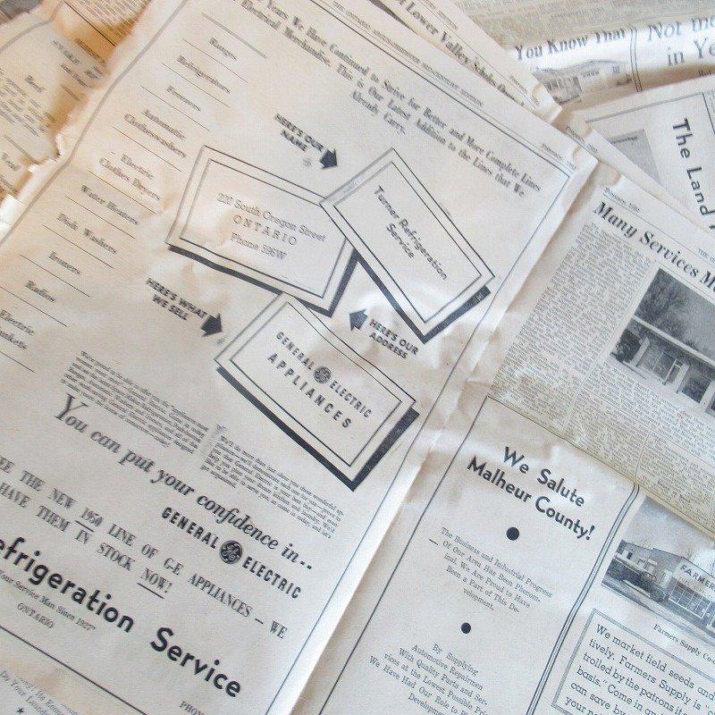1950年・2月・Ontario Argus-Observer・英字新聞・ページ23,24,25,26【画像3】