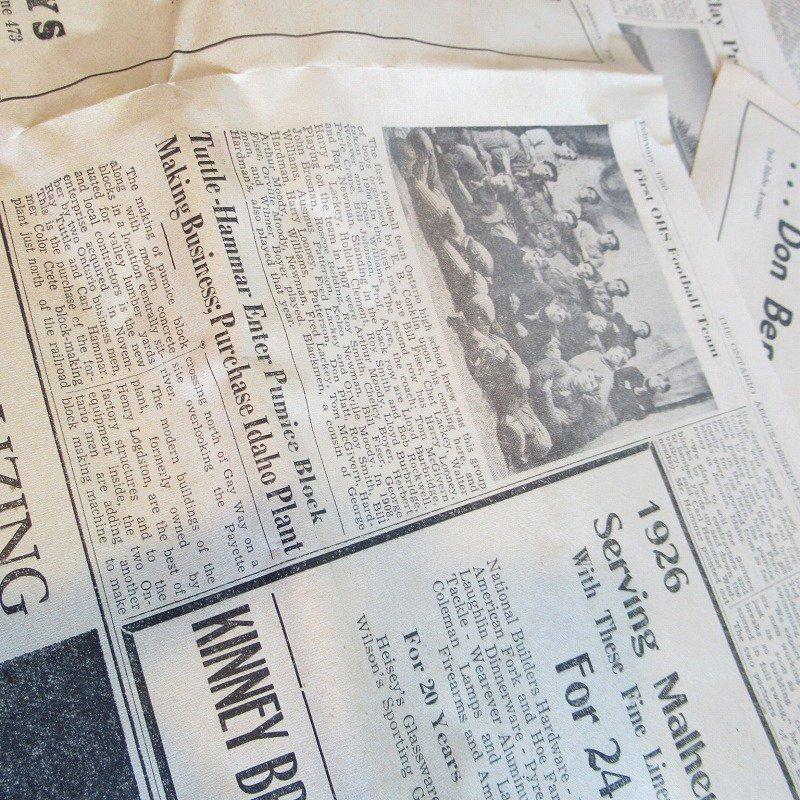 1950年・2月・Ontario Argus-Observer・英字新聞・ページ21,22,27,28【画像6】