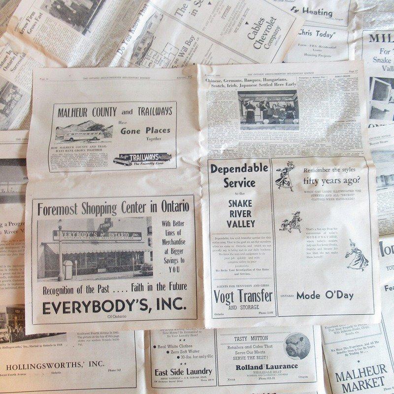 1950年・2月・Ontario Argus-Observer・英字新聞・ページ17,18,31,32