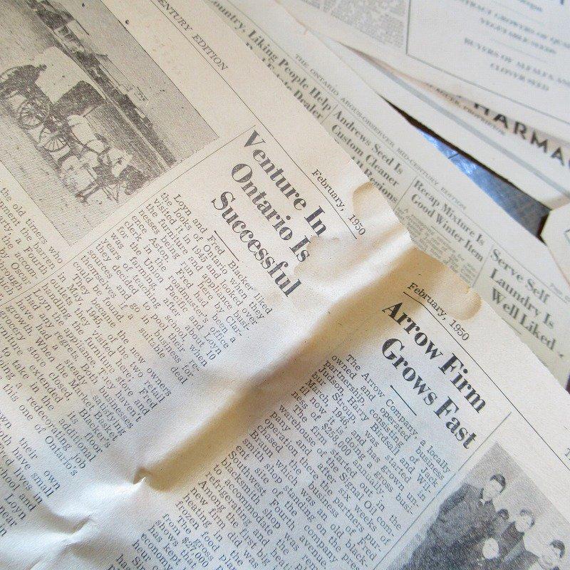 1950年・2月・Ontario Argus-Observer・英字新聞・ページ13,14,35,36【画像3】