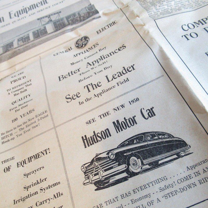 1950年・2月・Ontario Argus-Observer・英字新聞・ページ13,14,35,36【画像5】