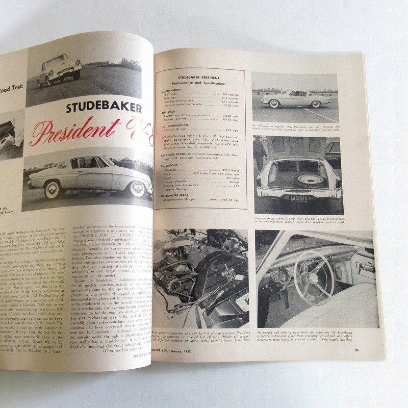 ヴィンテージマガジン・1955年2月号・Motor Life【画像4】